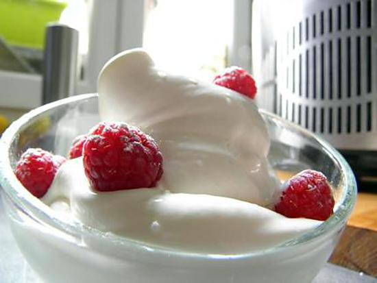 creme glace au fromage blanc
