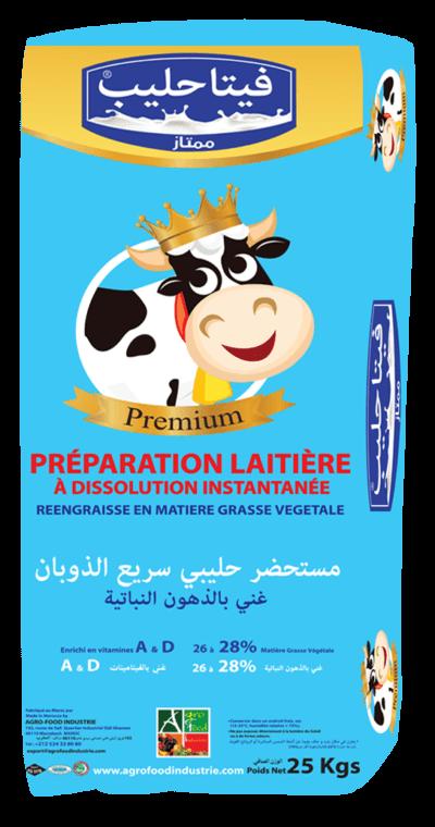 préparation laitière