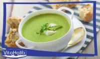 حساء أو شوربة الكوسة - الكرعة الخضراء بالمغربية