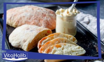 خبز شيباتا الايطالي